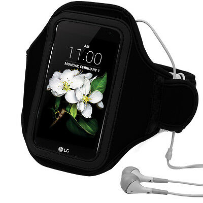 Black Neoprene Sport Running Gym Workout Armband For Apple iPod Touch 6 5 4""