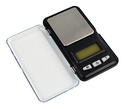LCD 0.01g/0.1g Digital Electronic Balance Weighing Jewelry Pocket Scale Gram L1Y