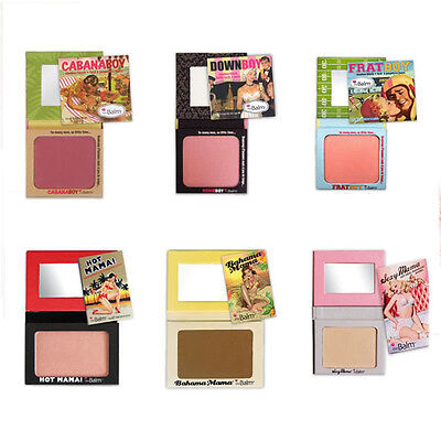 Beauty Makeup Blusher Powder Face Tool Cabana Flushed Palette Bronzer Colors