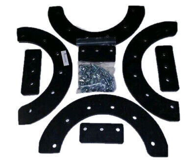 "Snowthrower Paddle set 20,21 or 22"" for Craftsman,  302565ma, HARDWARE INCLUDED!"