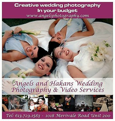 Wedding Photography+Video All day+ Flowers+Decoration Including in OTTAWA-CANADA
