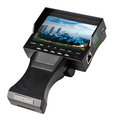 "Handheld 4.3"" TFT LCD Monitor Video CCTV Security Surveillance Camera Tester"