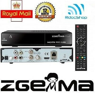 ZGEMMA H2S TWIN TUNER 2016 with 12 Month Gift✔Free 32GB USB✔ Premium Seller✔