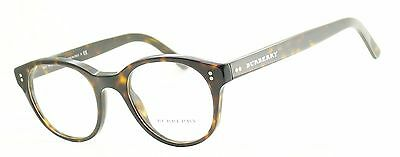 BURBERRY B 2194 3002 Eyewear FRAMES RX Optical Glasses Eyeglasses ITALY - New