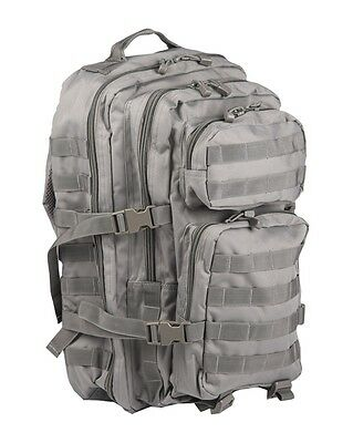 Mil-TecAssault Army Pack Tactical MOLLE Backpack Military Rucksack 20L Foliage