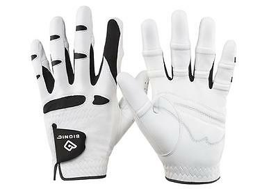 Bionic StableGrip with Natural Fit Golf Glove - Men, White