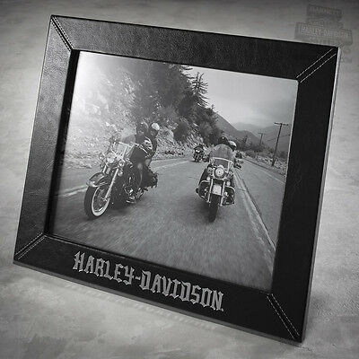 Harley Davidson 8x10 Leather Photo Frame 96824 16v 6000