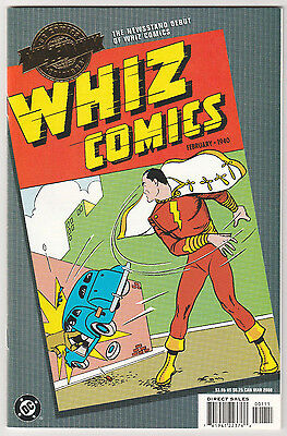 DC Comics Millennium Edition Whiz Comics #2 NM+ 2000 reprint Gold Foil 1st app.