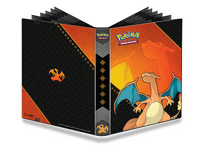 Ultra Pro PRO-Binder POKEMON OVP Ordner CHARIZARD 9-Pocket Album f.360 Karten