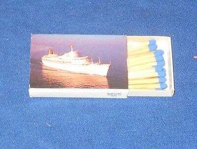 Vintage P & O S.S. Canberra Match Box with contents