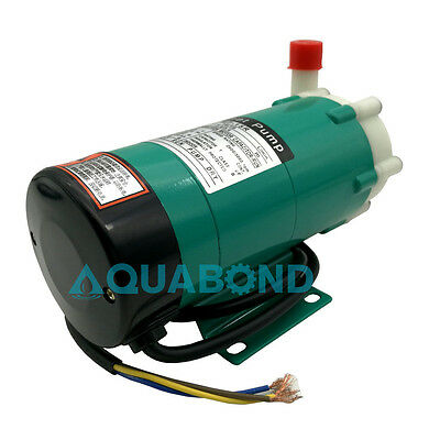 220V Magnetic-driven Circulation Pump 480LPH Water Treatment Magnetic Cycle Pump