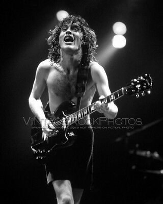 Angus Young AC/DC Photo 8x10 inch Live 1980's Concert Pro Lab Studio Print 164b