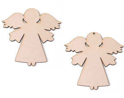 Wooden MDF Angels Angel Craft Blanks Christmas Angel Shapes Christmas Gift Tags