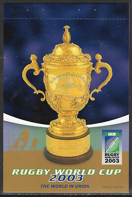 Rugby World Cup Australia 2003 Postcard