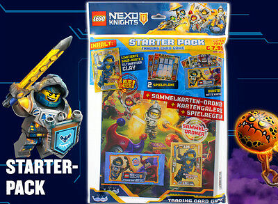 Lego® NEXO KNIGHTS™ Trading Card Game - Starterpack + 10 Booster