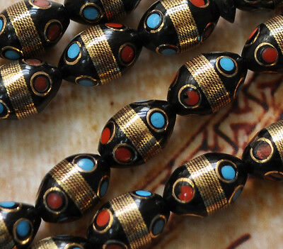Prayer beads-kuka- inlaid Komboloi-Tasbih-Worry Beads
