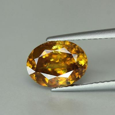 TITANIT (SPHEN)  -  OVAL FACET  -  8,8x6,8 mm  -  1,76 ct.
