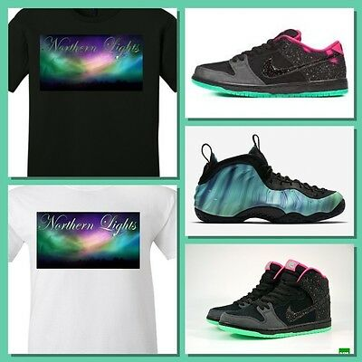 9af68d0b9cf EXCLUSIVE TEE SHIRT to match the NIKE FOAMPOSITE or SB DUNK NORTHERN LIGHTS!