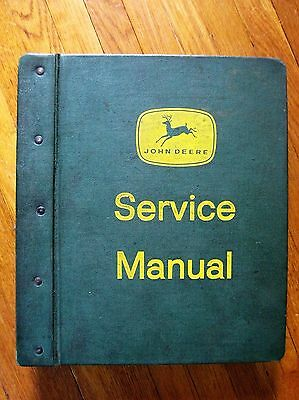 John Deere 50 60 Tractor Service Manual 4 Legged Deer Green Binder Electrical