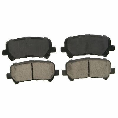 Rear Wagner QuickStop ZD1281 Ceramic Disc Pad Set
