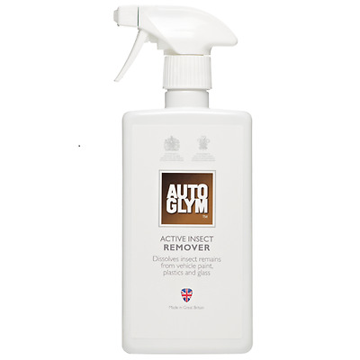 Autoglym Car Van Care Active Bug Insect Remover Windscreen Cleaner Spray 500ml