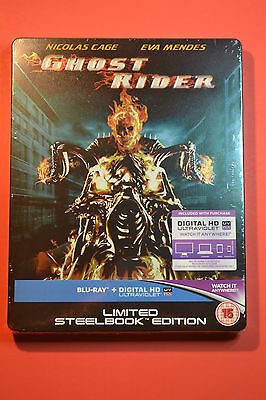 Ghost Rider STEELBOOK Bluray UK Edition New and Sealed *Region Free*
