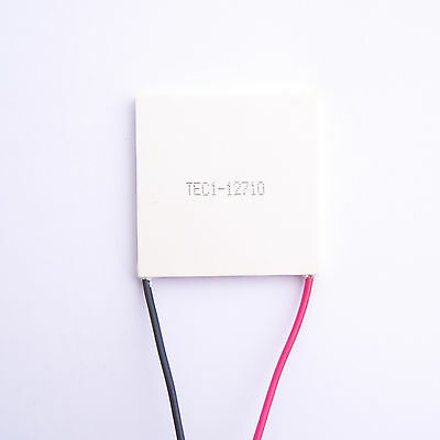 New 1 PCS 50mm TEC1-12710 TEC Thermoelectric Cooler Peltier 12V