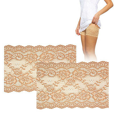 Bandelettes Elastic Anti-Chafing Thigh Bands *Prevent Thigh Chafing* - Beige Ony