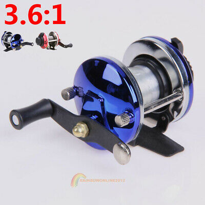 3.6:1 Right Saltwater Ice Fishing Spinning Reels Line Drum Wheel Ice TB Liner