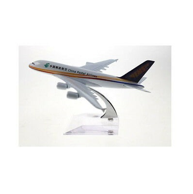 New Ems China Postal Airlines Diecast Plane Model 1:400 With Stand