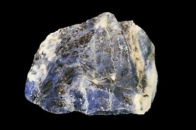"Blue Sodalite 2 1/2"" Healing Crystals Stones Throat Chakra Reiki Metaphysical"