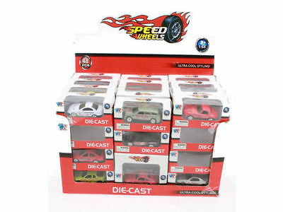 24 Speed Wheel Car Series In Display box Great Kids Toy Bulk Wholesale Lot