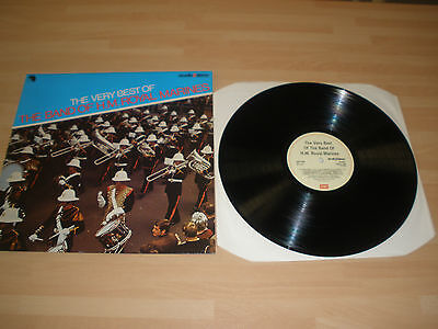 """The Band Of H.m. Royal Marines 12"""" Vinyl Lp The Very Best Of Emi Twox 1063 Ex """""""