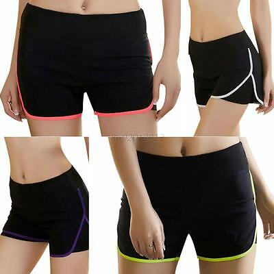 Fitness Womens Sports Shorts Casual Running Cycling Gym Yoga Workout Hot Pants