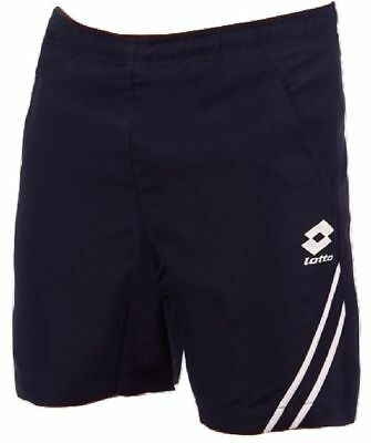 LOTTO Men's Tennis Shorts Elastisized Waist Mesh Lining Sport Bottoms Q2327