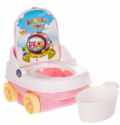 Baby Kids Child Girl Toddler Potty Seat Bathroom Training Chair Urinal Trainer