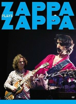 Zappa Plays Zappa [2 Discs] (2008, DVD NUEVO) Amaray2 DISC SET (REGION 1)