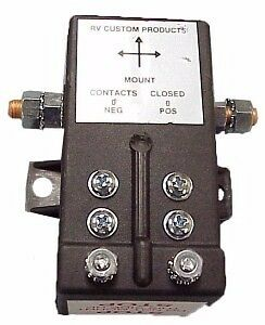 RV Custom products Battery disconnect solenoid #F81-1002 -NEW-