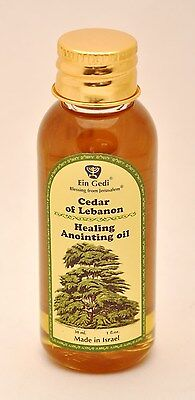 Healing Anointing Oil Cedar of Lebanon 30 ml From Holyland Jerusalem