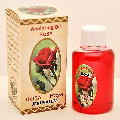 Anointing Oil Rose Of Sharon 40.ml Botte Fragrance Of The Holy Bible Jerusalem