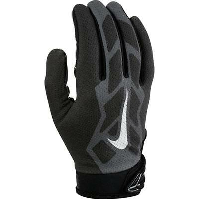 new youth L Nike vapor jet 3.0 receiver gloves/pair white/black gf0486-100