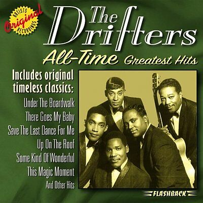 THE DRIFTERS - All Time Greatest Hits -  CD New Sealed