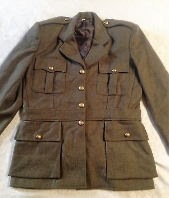 British Army Womans Tunic Wool