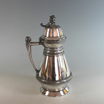 Antique Meriden Silverplate Pitcher 1865