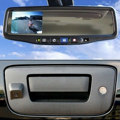 BRANDMOTION 9002-9504 Rear View Back Up Camera Kit w/ Compass and Temp. Gauge