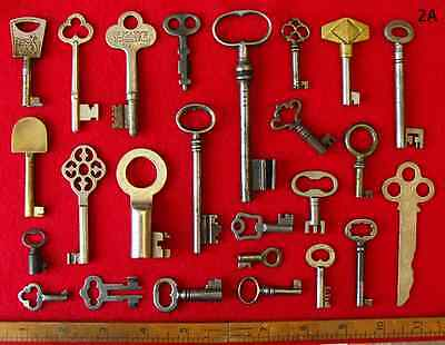 Collectors Choice Handpicked GENUINE Antique Vintage Old Skeleton Keys Lot Set