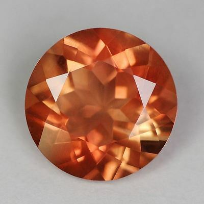 ROTER ANDESIN  -  ROUND FACET  -  8 mm  -  1,45 ct.