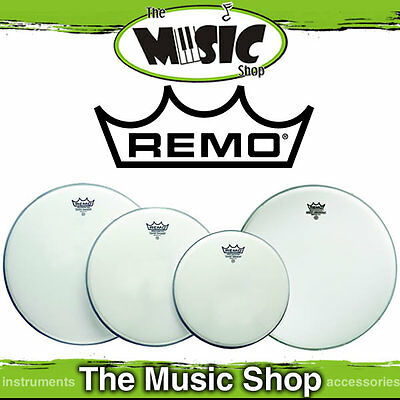 "Remo Drum Head Pack - Emperor Coated Fusion 10"", 12"", 14"" + 14"" Amb PP-1020-BE"