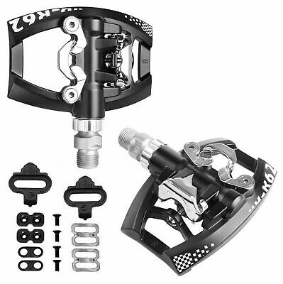 VP-R62 Dual Function Platform Shimano SPD Road Touring Pedals
