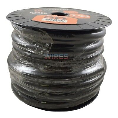 Raptor R31-0-50B 1/0 Gauge 50 Feet Black Ground Audio Cable Wire 1/0 AWG 50ft